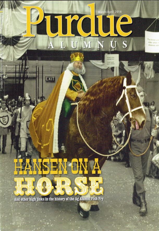 1.Purdue Alumnus Cover